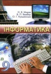 Інформатика 9 клас Н.Морзе