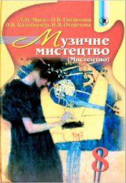 Музичне мистецтво 8 клас Л.М.Масол